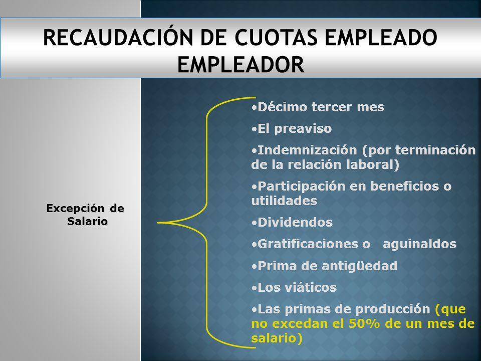 SALARIO O SUELDO COMISIONES GASTO DE REPRESENTA- CIÓN DIETAS PRIMAS DE PRODUCCIÓN VACACIONESBONIFICACIONES SALARIOS EN ESPECIES COMBUSTIBLE Siempre qu