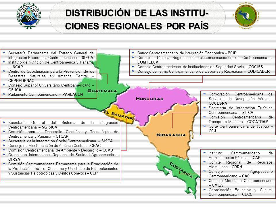 Secretaría General del Sistema de la Integración Centroamericana – SG-SICA Comisión para el Desarrollo Científico y Tecnológico de Centroamérica y Pan