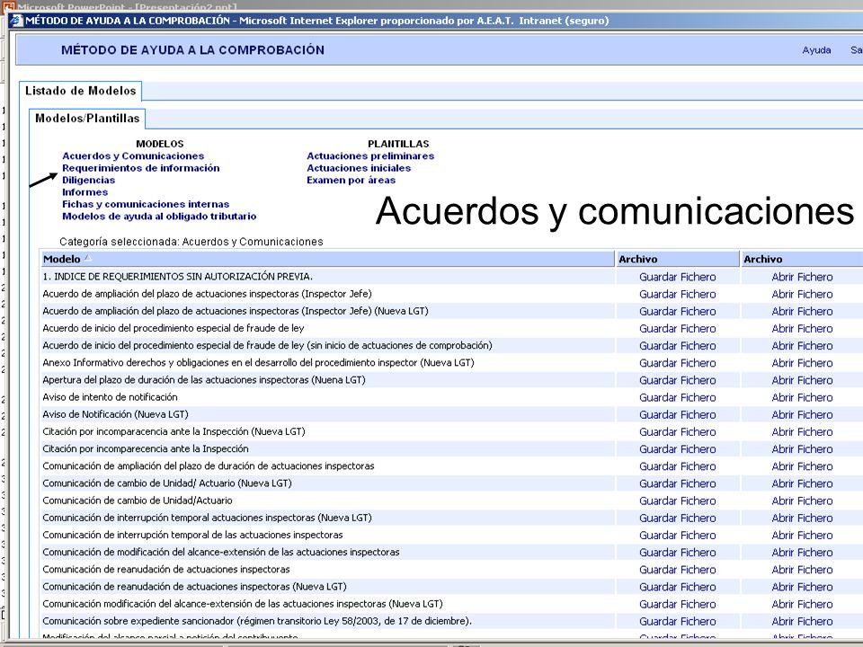 54 Acuerdos y comunicaciones 54