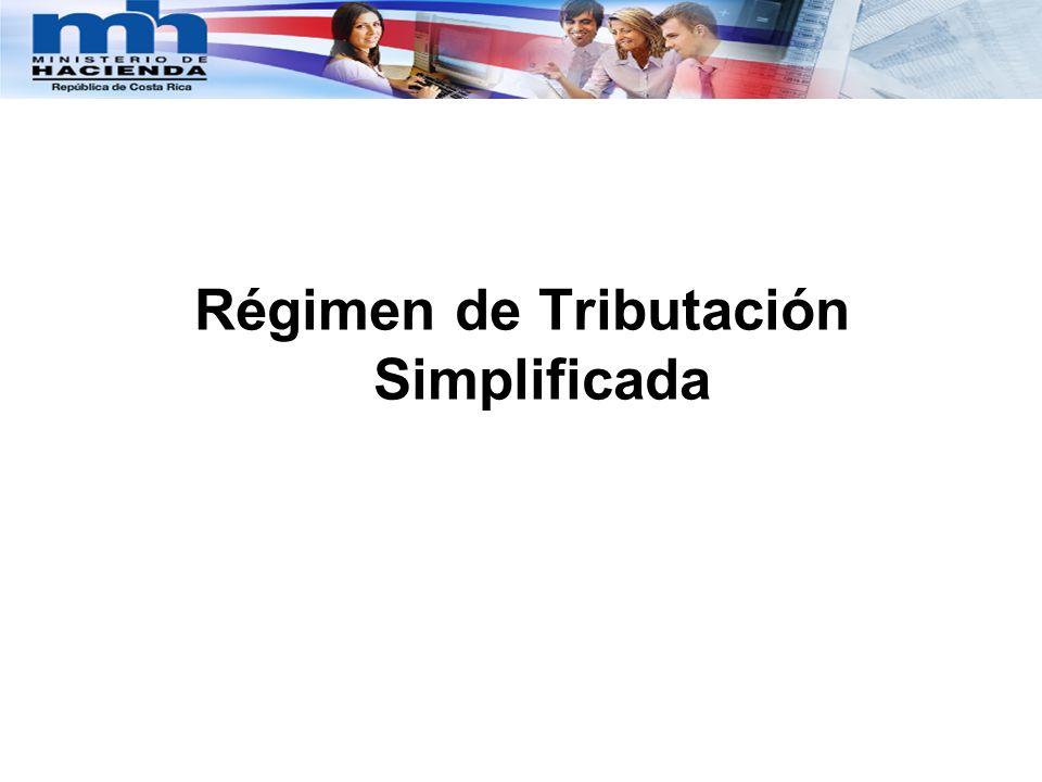 Fundamento legal y sus reformas El actual Régimen de Tributación Simplificada en Costa Rica, (en adelante RTS), fue creado mediante la Ley Nº 7543 Ley de Ajuste Tributario del 14 de setiembre de 1995, publicada en el Alcance Nº 36 a La Gaceta Nº 177 del 19 de setiembre de 1995, que se recoge en los artículos del 71 al 80 de la actual Ley 7092, Ley del Impuesto sobre la Renta, y que otorga facultad a la Administración Tributaria para establecer regímenes de tributación Simplificada de acceso voluntario para el Impuesto sobre la Renta, por grupos o ramas de actividad, cuando con ellos se facilite el control y el cumplimiento voluntario de los contribuyentes (Reformado por la Ley Nº 8114 de 4 de julio del 2001, publicada en alcance Nº 53 a La Gaceta Nº 131 de 9 de julio del 2001).