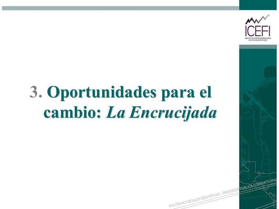 Oportunidades para el cambio: La Encrucijada 3. Oportunidades para el cambio: La Encrucijada