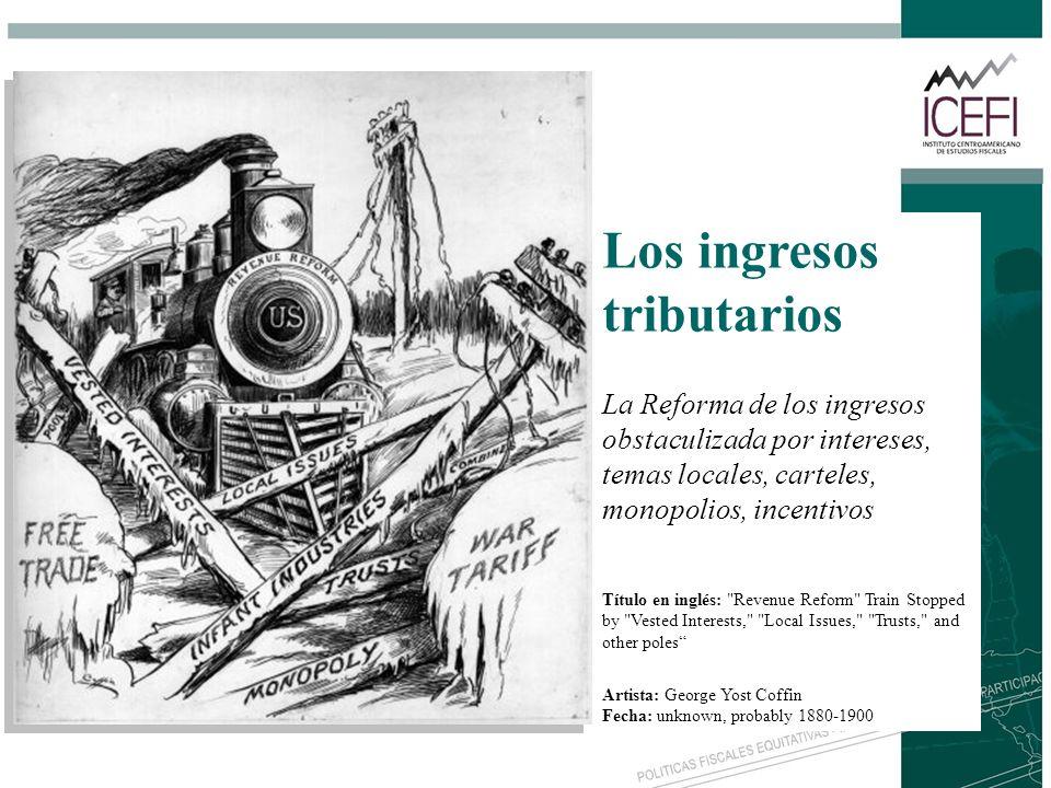 Los ingresos tributarios La Reforma de los ingresos obstaculizada por intereses, temas locales, carteles, monopolios, incentivos Título en inglés: