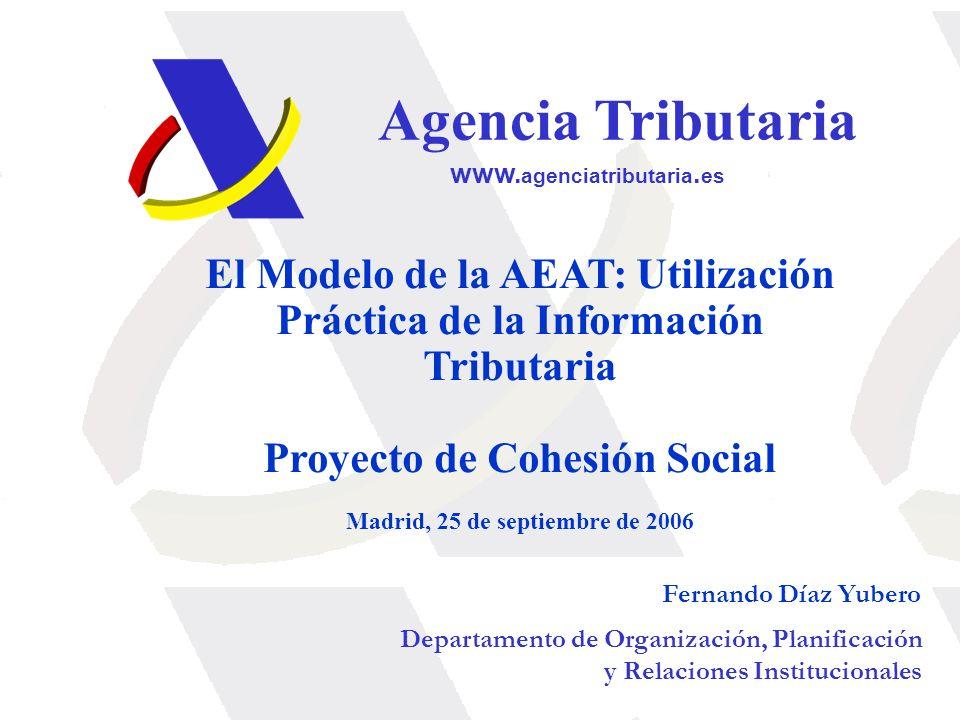 Agencia Tributaria www.agenciatributaria.