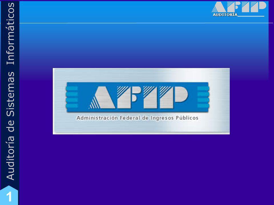 AUDITORÍA Auditoría de Sistemas Informáticos 1 Marco Normativo área de TI Instrucción General N° 2/05 (SDG SIT) y Anexos – Pautas para el desarrollo y mantenimiento de sistemas informáticos en la AFIP.