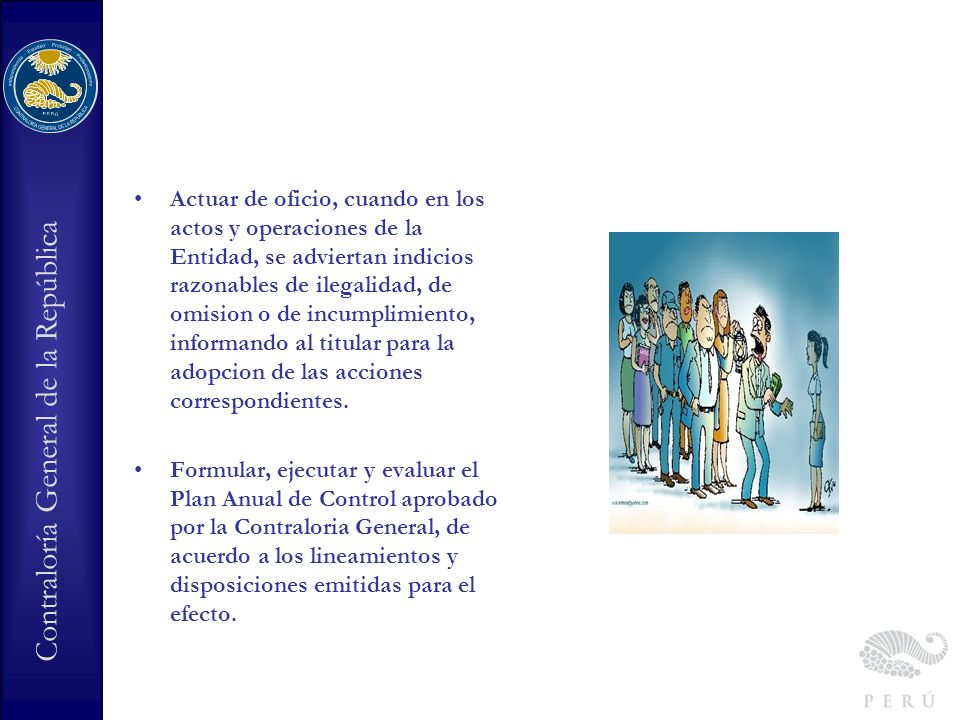 Contraloría General de la República Los Jefes de OCI en cifras 762 Jefaturas de OCI en las entidades bajo el ambito del Sistema Nacional de Control.