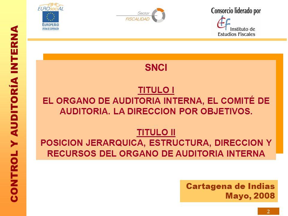 CONTROL Y AUDITORÍA INTERNA 13 El Informe Coso se publicó en 1992, transcurrido un tiempo se percibió la necesidad de desarrollar un marco que integrara la gestión de riesgos.