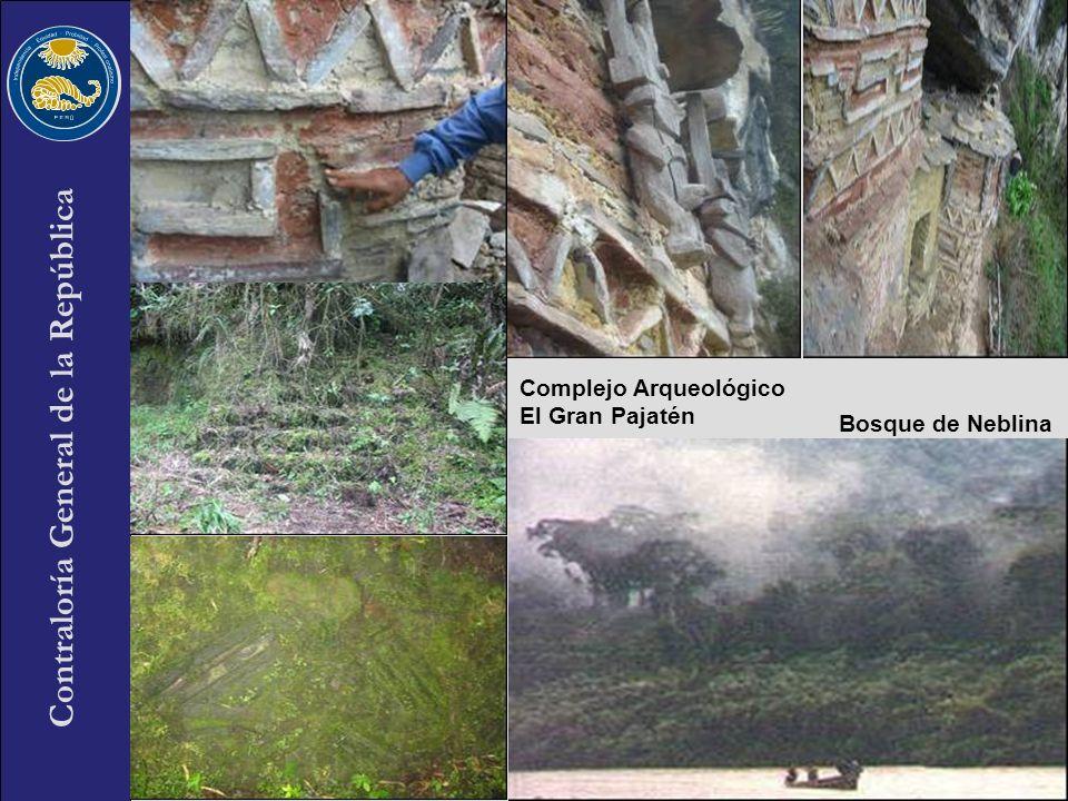 Contraloría General de la República 35 Complejo Arqueológico El Gran Pajatén Bosque de Neblina