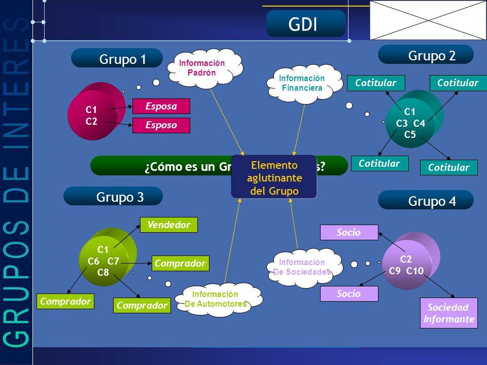 GDI ¿Cómo es un Grupos de Interés.