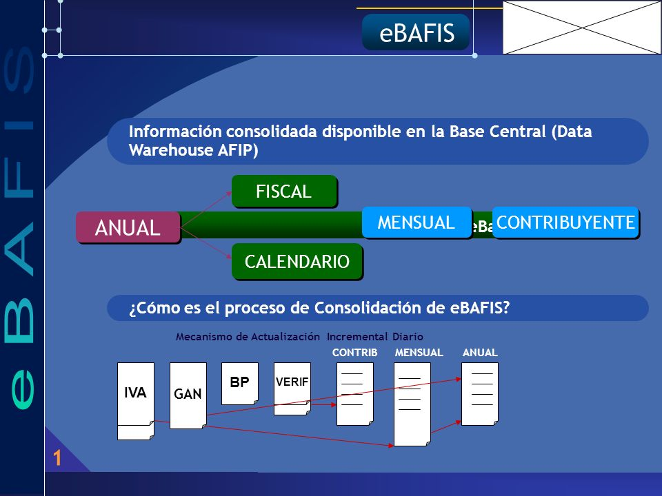 eBAFIS ¿Qué es eBafis.