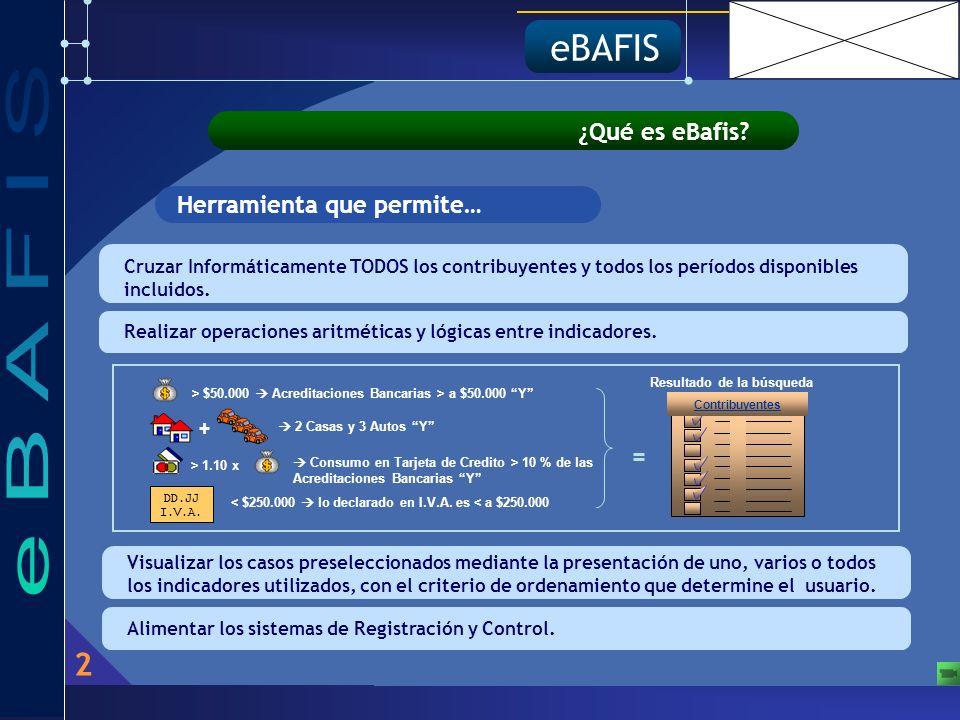 2 eBAFIS ¿Qué es eBafis.