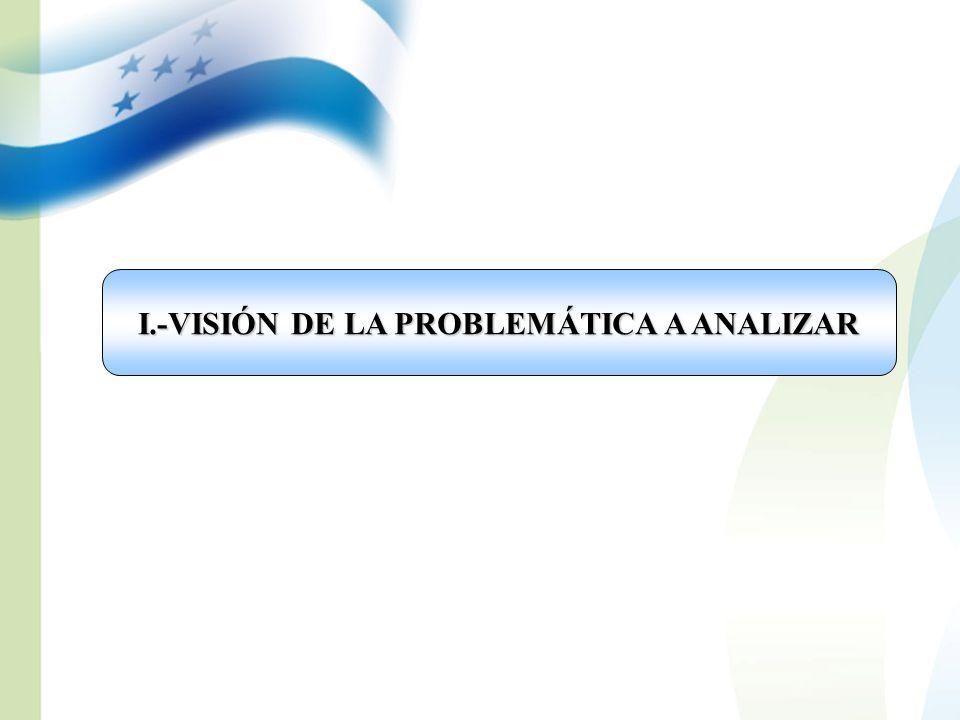 I.-VISIÓN DE LA PROBLEMÁTICA A ANALIZAR