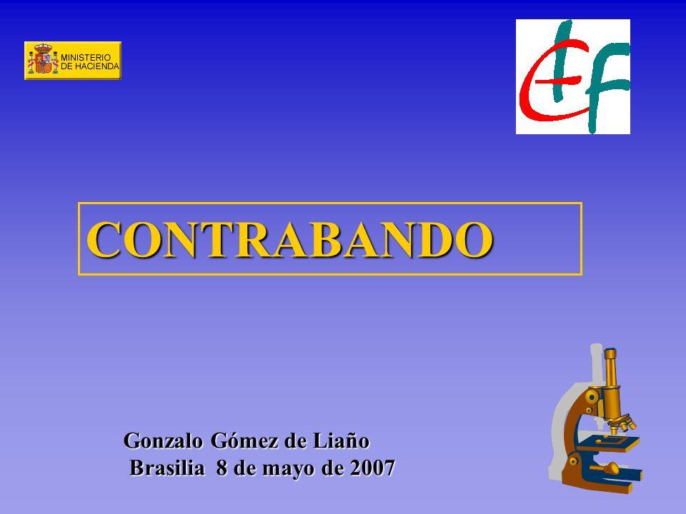 Gonzalo Gómez de Liaño Brasilia 8 de mayo de 2007 CONTRABANDO