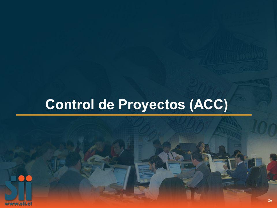 26 Control de Proyectos (ACC)