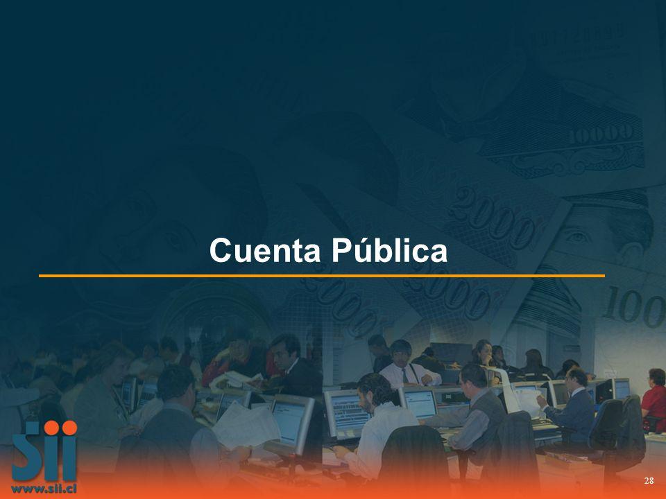 28 Cuenta Pública