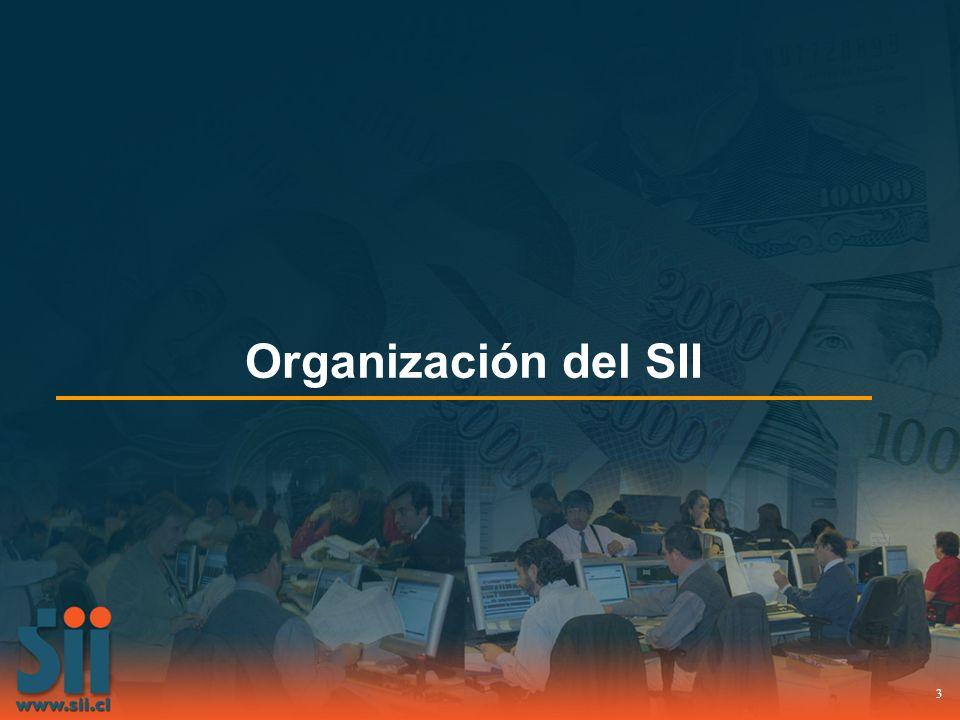3 Organización del SII