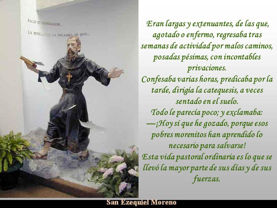 Ria Slides En febrero de 1896 llegó a Casanare una comunicación oficial de que monseñor Ezequiel Moreno había sido nombrado obispo de Pasto. En abril