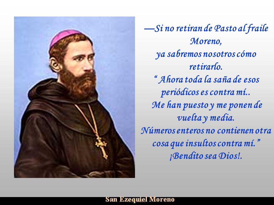 Ria Slides Acoge a monseñor Schumacher, expulsado de su diócesis de Portoviejo, y lo defenderá como a hermano querido; acoge a los capuchinos persegui
