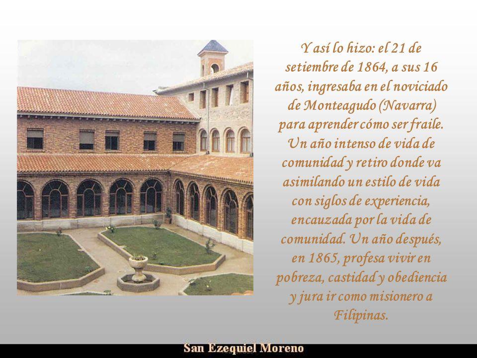 Ria Slides Cantaba en la real colegiata de Alfaro. Cuando lo oyó el obispo de Tarazona, lo invitó a ingresar en el seminario y le ofreció una beca. Su