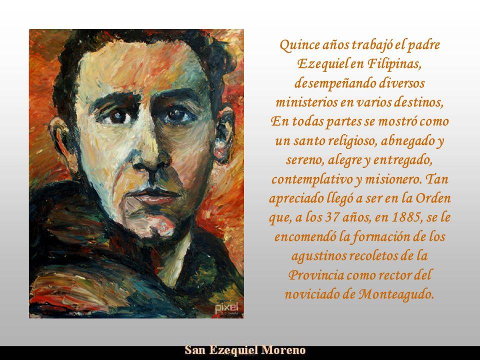Ria Slides Estudia la filosofía en Monteagudo y al año siguiente, 1866, pasa a Marcilla, donde estudia la teología durante tres cursos. Ya entonces er