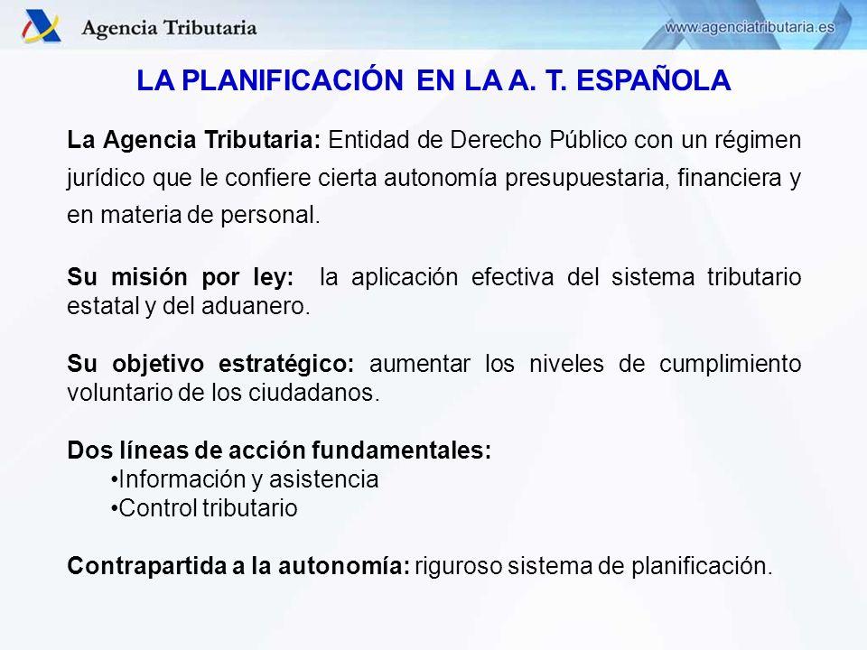 Departamento de Aduanas e Impuestos Especiales Aplicación de seguimiento del Plan de Objetivos de la Agencia Tributaria (entorno intranet) Aplicación de seguimiento del Plan de Objetivos de la Agencia Tributaria (entorno intranet)