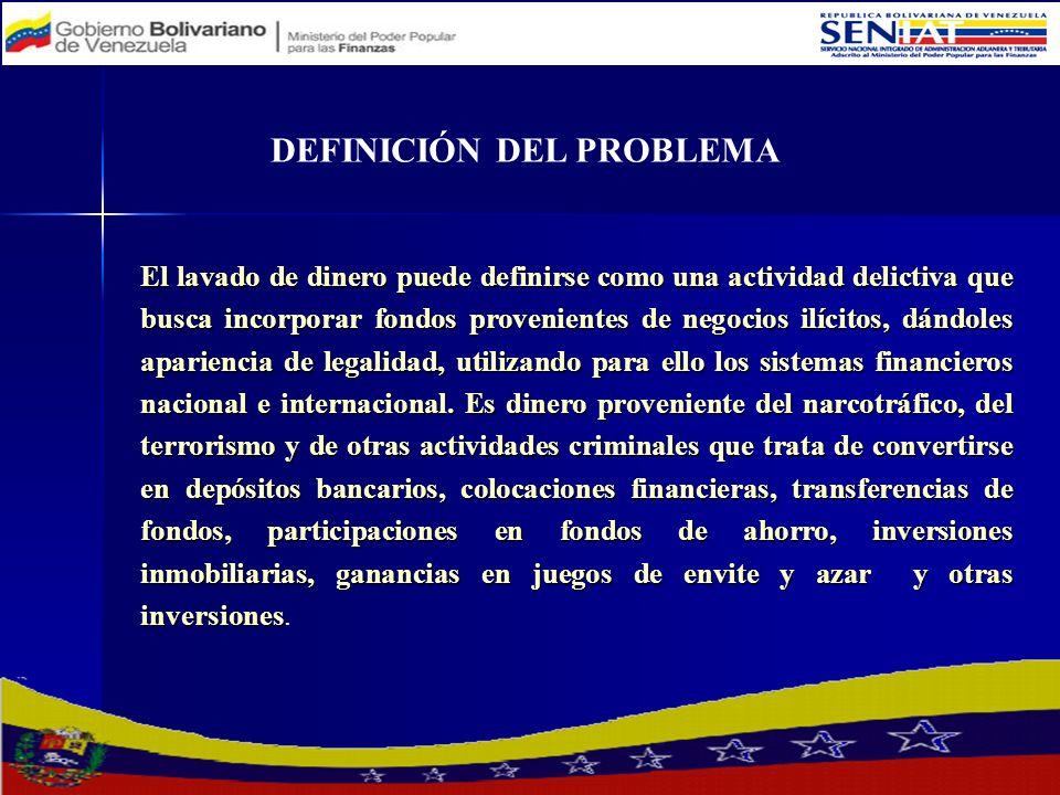 El Estado Venezolano participa en las instancias y compromisos asumidos en los tratados y acuerdos internacionales sobre Legitimación de Capitales suscritos por éste.