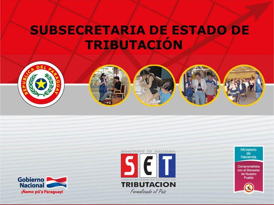 1 SUBSECRETARIA DE ESTADO DE TRIBUTACIÓN