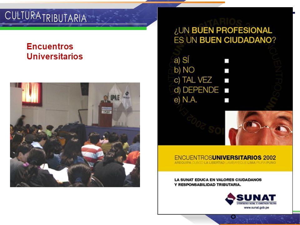 8 Encuentros Universitarios