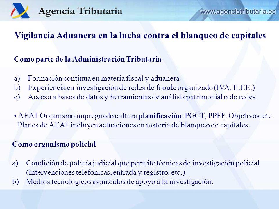 Como parte de la Administración Tributaria a) Formación continua en materia fiscal y aduanera b) Experiencia en investigación de redes de fraude organ