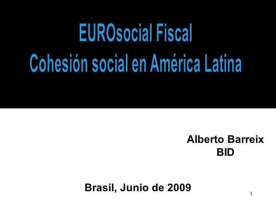 1 Alberto Barreix BID Brasil, Junio de 2009