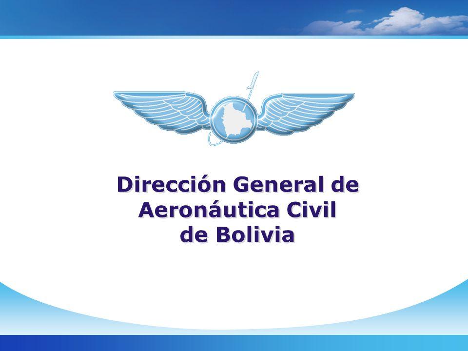 Unidad Financiera Dirección General de Aeronáutica Civil de Bolivia
