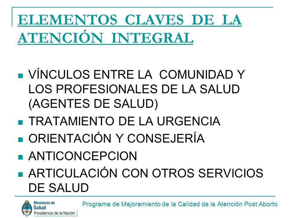 VÍNCULOS ENTRE LA COMUNIDAD Y LOS PROFESIONALES DE SALUD FORMACIÓN DE AGENTES DE SALUD TALLERES INFORMATIVOS EDUCACIÓN EN ESCUELAS, IGLESIAS, CLUBES, ETC.