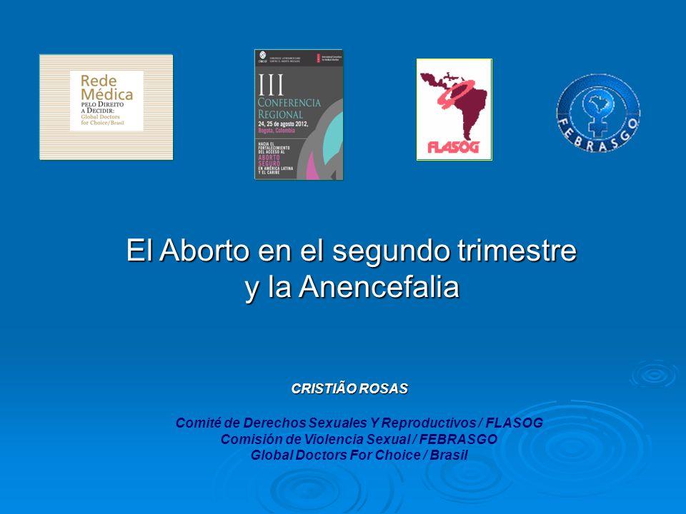 Comité de Derechos Sexuales Y Reproductivos / FLASOG Comisión de Violencia Sexual / FEBRASGO Global Doctors For Choice / Brasil CRISTIÃO ROSAS CRISTIÃ