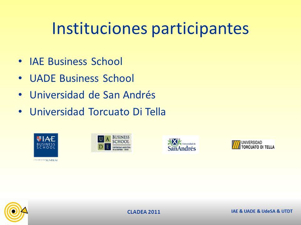 CLADEA 2011 11,5 km Ciudad Autónoma de Buenos Aires ¿Por qué nace la idea?