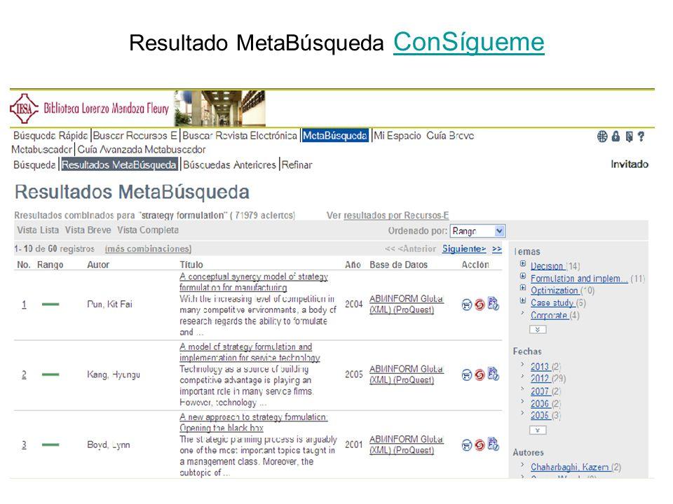 Metalib – Julio 2011