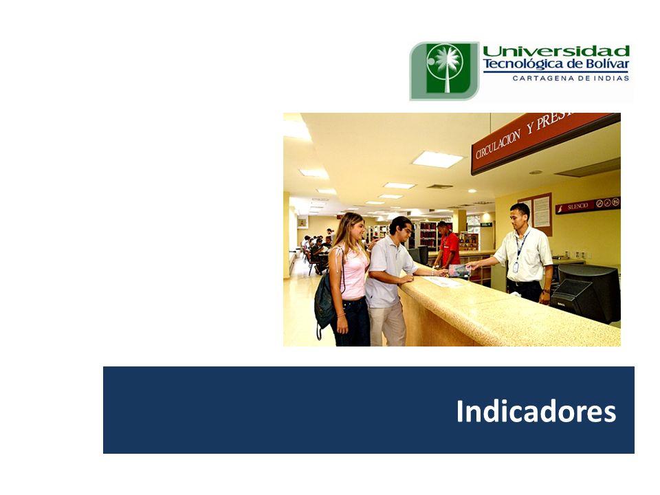 Visita Pares Académicos. 10, 11 y 12 de junio de 2009. Indicadores