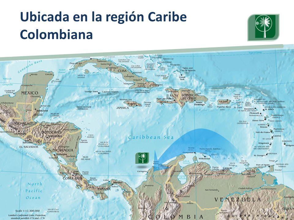 Visita Pares Académicos. 10, 11 y 12 de junio de 2009. Ubicada en la región Caribe Colombiana