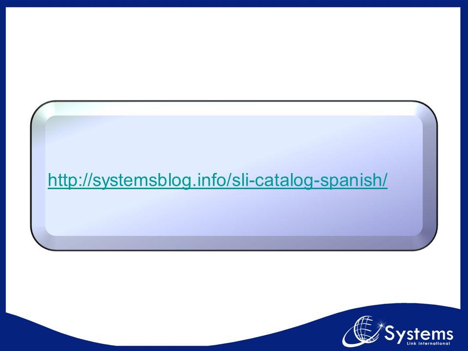 http://systemsblog.info/sli-catalog-spanish/