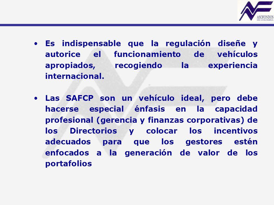 Es indispensable que la regulación diseñe y autorice el funcionamiento de vehículos apropiados, recogiendo la experiencia internacional.