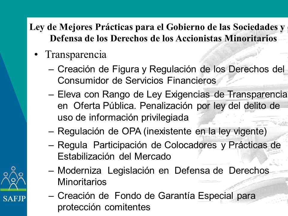 SAFJP Breve descripción del caso argentino