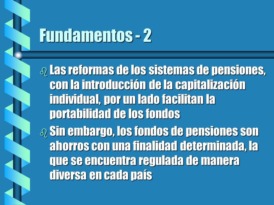 Acuerdos Internacionales en materia de Previsión Social b Se refieren básicamente a sistemas de reparto b Se basan en el cómputo de períodos cotizados en cada uno de los países que forman parte del acuerdo