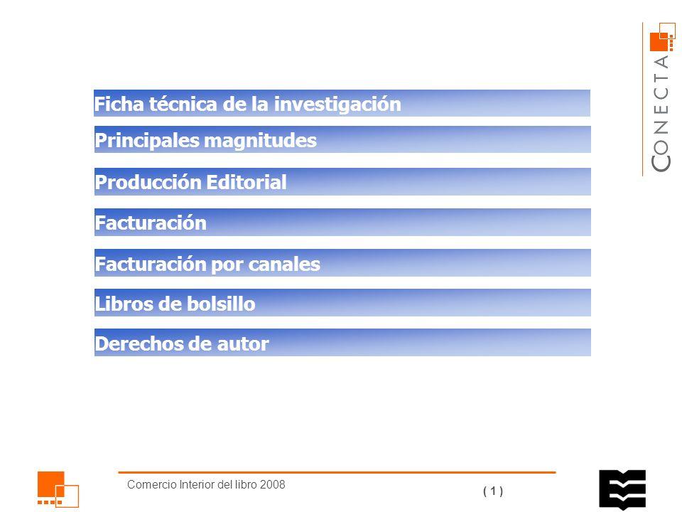 Comercio Interior del libro 2008 ( 0 ) COMERCIO INTERIOR DEL LIBRO 2008 DIRECCIÓN GENERAL DEL LIBRO, ARCHIVOS Y BIBLIOTECAS Desarrollado para Con el patrocinio de