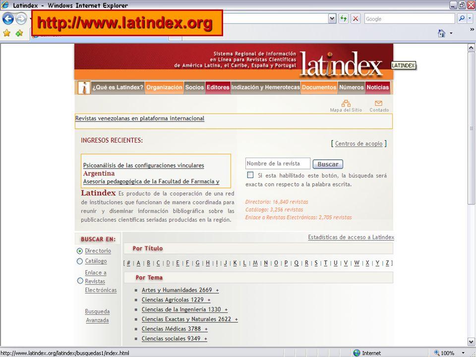 19 http://www.latindex.org