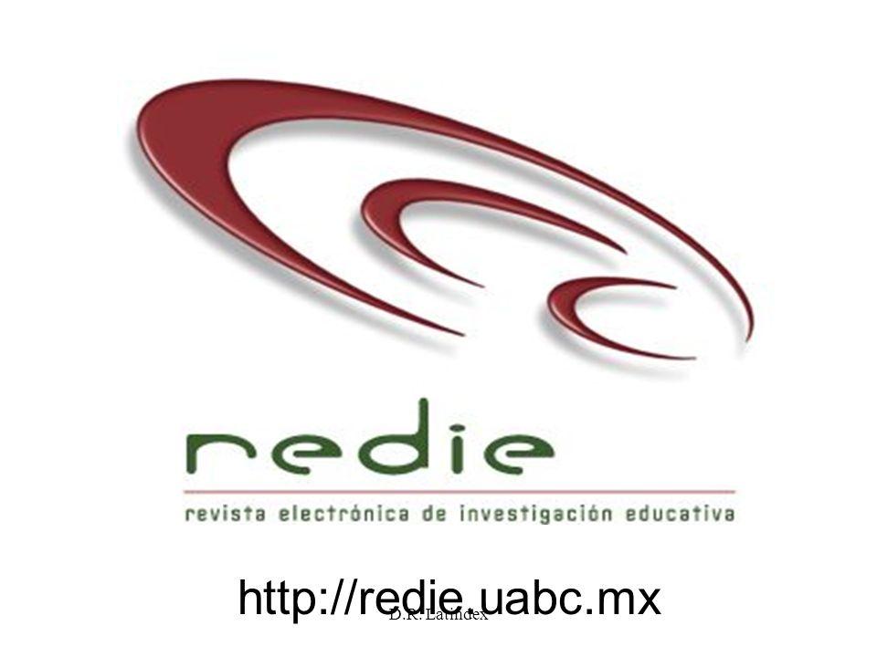 D.R. Latindex http://redie.uabc.mx
