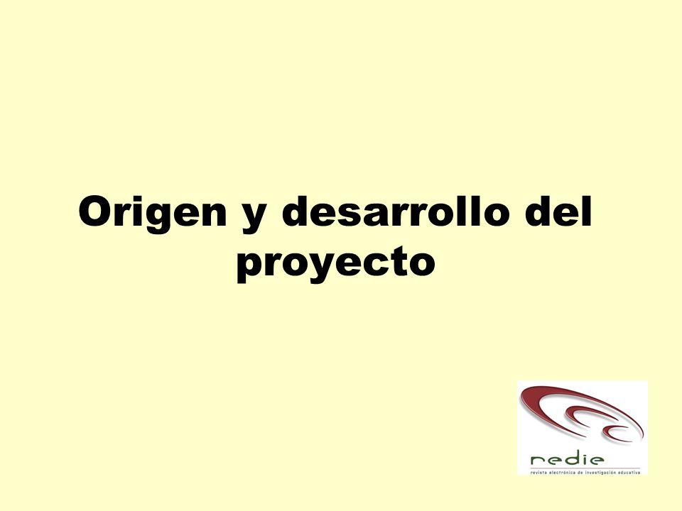 Origen y desarrollo del proyecto