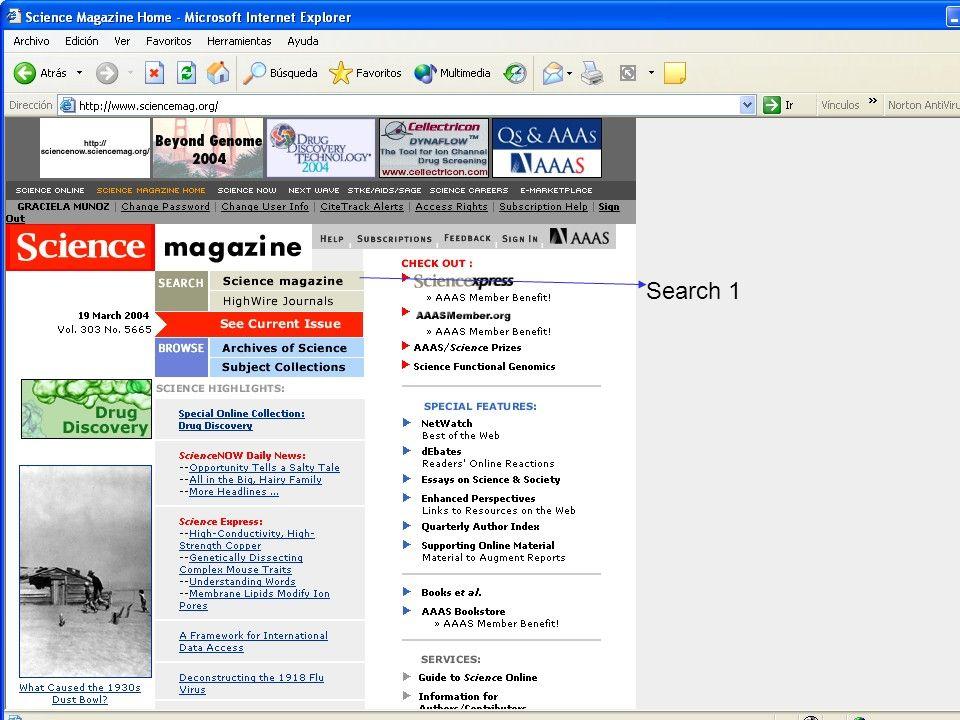 PRESENTACIÓN A EDITORES Abril 2004 Aplicaciones Multimedia y Facilidades de Comunicación para Revistas Electrónicas Taller Latindex para Editores de Revistas Científicas 5 a 7 de abril 2004 www.ejbiotechnology.info Search 1