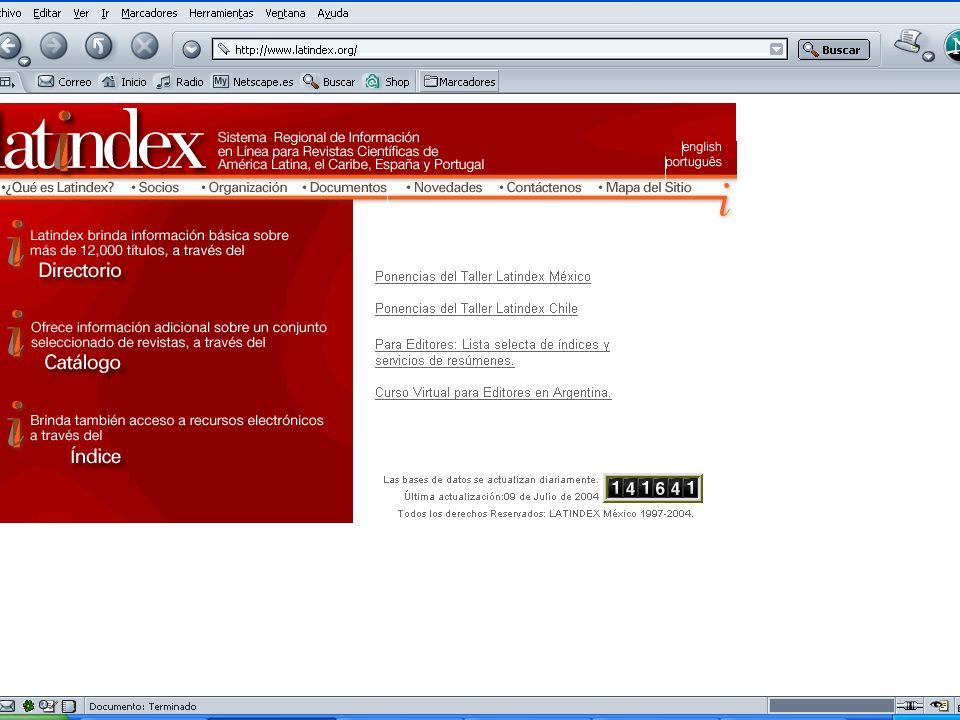 D.R. Latindex21