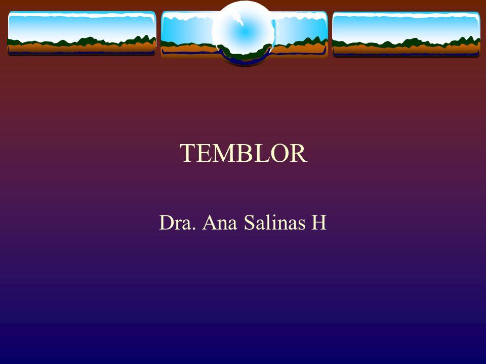 DEFINICION El temblor es un movimiento involuntario de tipo oscilatorio, repetitivo, producido por la contracciòn alternada de los mùscu- los agonistas y antagonistas que mueven una o màs articulaciones del cuerpo pudiendo afectar una zona o la totalidad del mismo