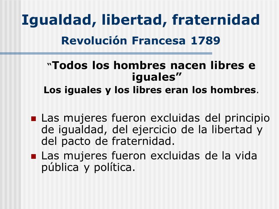 Libertad Libertad formal: Constituciones políticas/libertades individuales fundamentales Libertad de (libre de): nadie te impide.