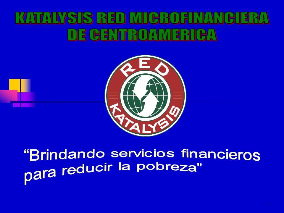 3 NUESTRA MISIÓN Lograr que las IMF miembros de la Red y de la Región, provean servicios financieros efectivos y eficientes, para la población Centroamericana que no tiene acceso a fuentes de financiamiento tradicionales, contribuyendo al desarrollo de la industria Microfinanciera de la región y al mejoramiento social y económico de sus comunidades.