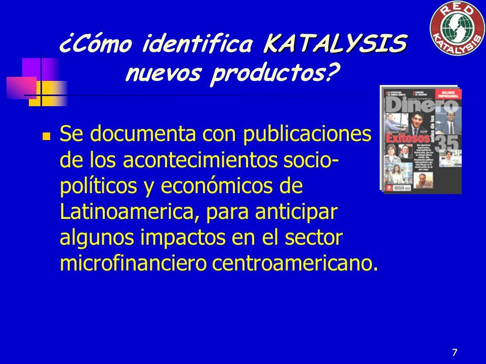 7 Se documenta con publicaciones de los acontecimientos socio- políticos y económicos de Latinoamerica, para anticipar algunos impactos en el sector m